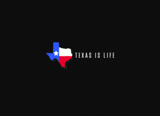 texas is life logo